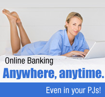 Access online banking anywhere anytime