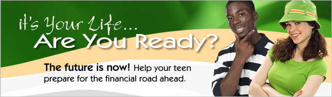Help your teen prepare for the financial road ahead.